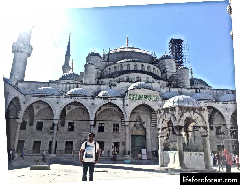 Den blå moskeen, Istanbul