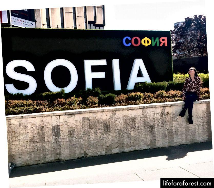 Tác giả bây giờ biết Sofia thực sự ở Bulgaria.
