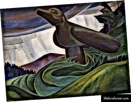 Big Raven, 1913, Emily Carr