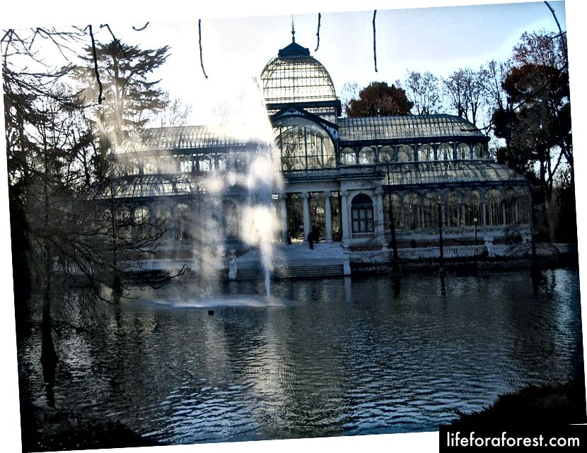 Cristali palee Retiro pargis Madridis (foto autor Carlos Reusser Monsalvez, allikas: Wikipedia - PD, kasutatud vastavalt terminitele)