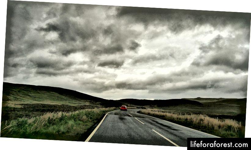 Fotturer på Isle of Skye, Skottland