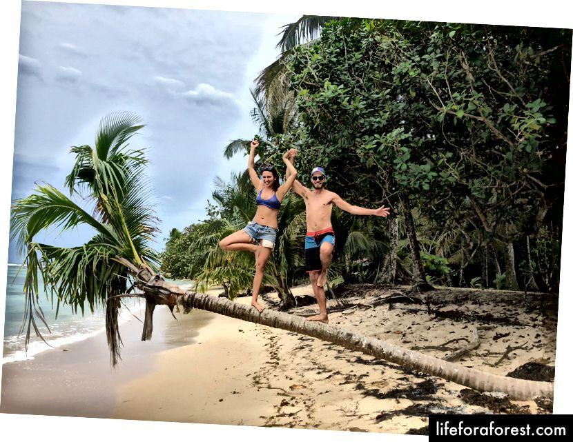 3 měsíce na této zasněné pláži v Panamě byly dobře stráveny