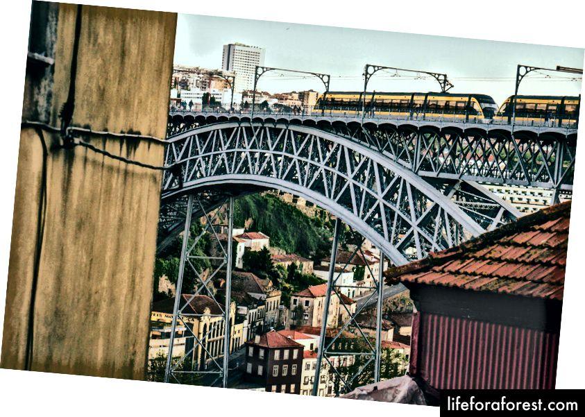 Most Dom Luis I, Porto, Portugalsko