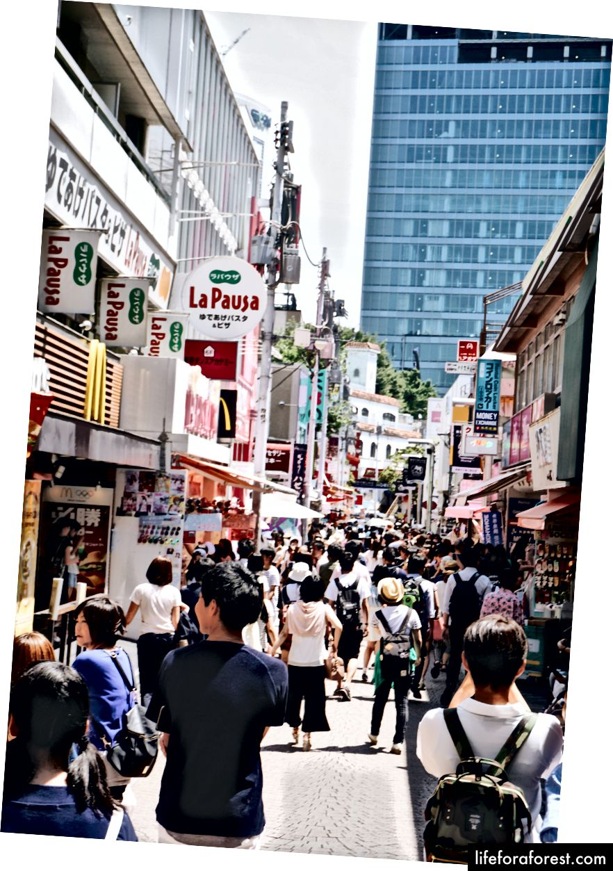 Takeshita street i Harajuku