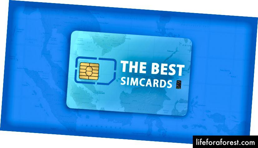 Janubi-Sharqiy Osiyoning har bir davlatida foydalanish uchun eng yaxshi SIM-kartalar