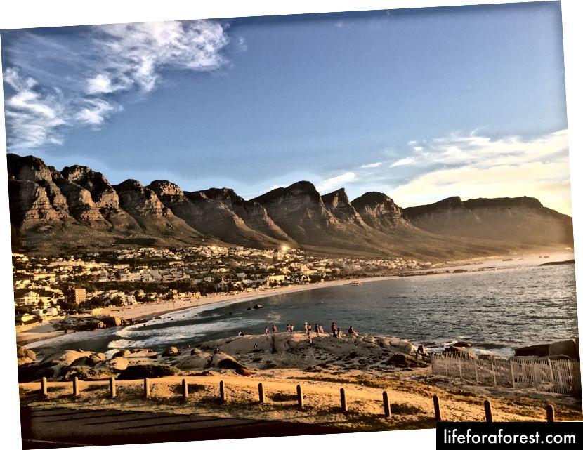 Sự quyến rũ của Thành phố Mẹ, sự quyến rũ của Nam Phi!