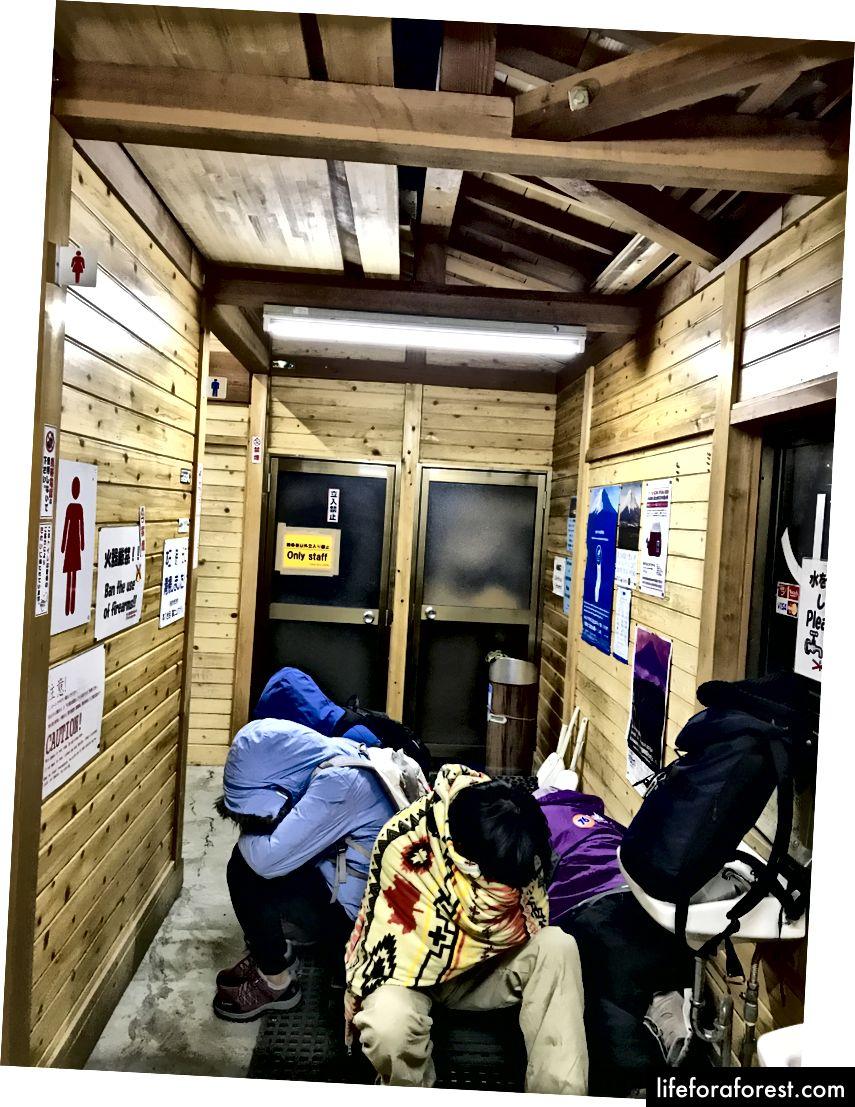 Vào lúc cao điểm / Ngủ trưa 15 phút rất cần thiết trong nhà vệ sinh