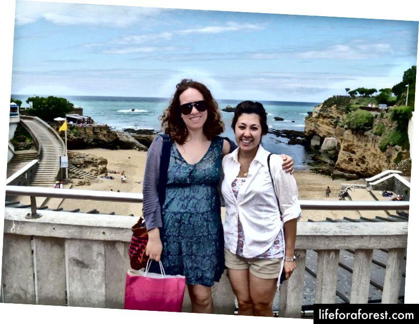 Bestarest va men Biarritsda (Frantsiya). Circa 2012 yil.