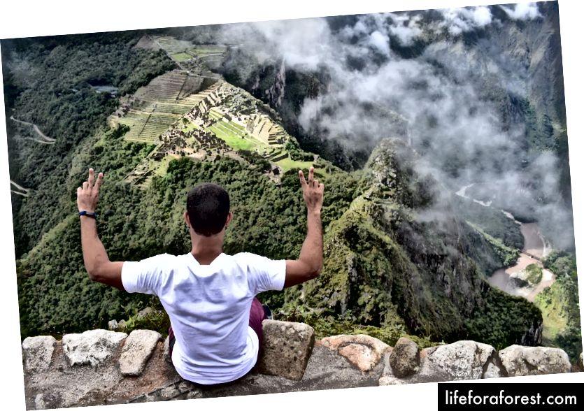 Macchu Picchu từ đỉnh Huayna Picchu