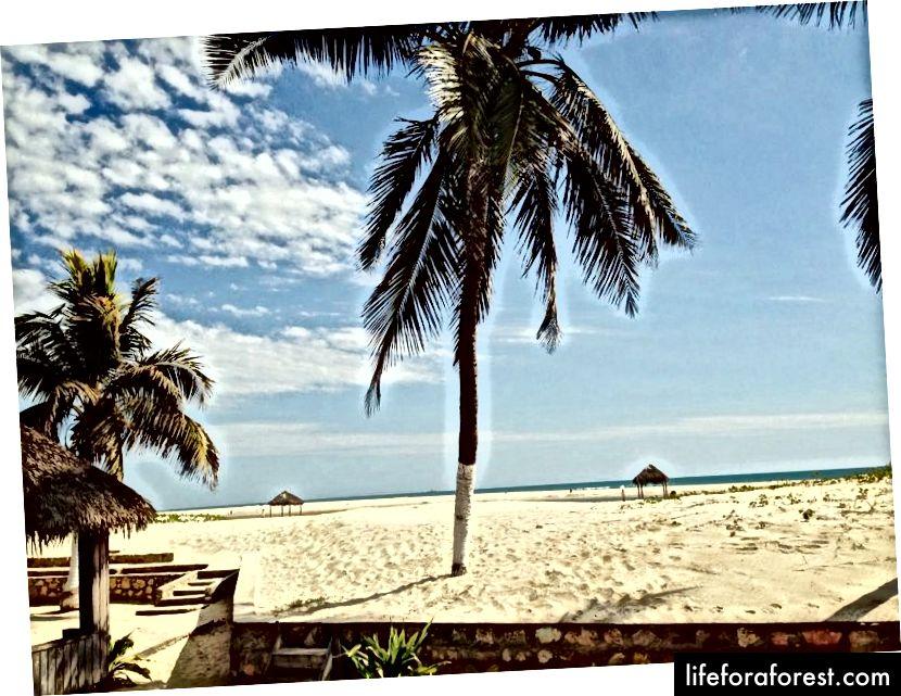 Kvalitní pláž Morondava © WAU Madagaskar.
