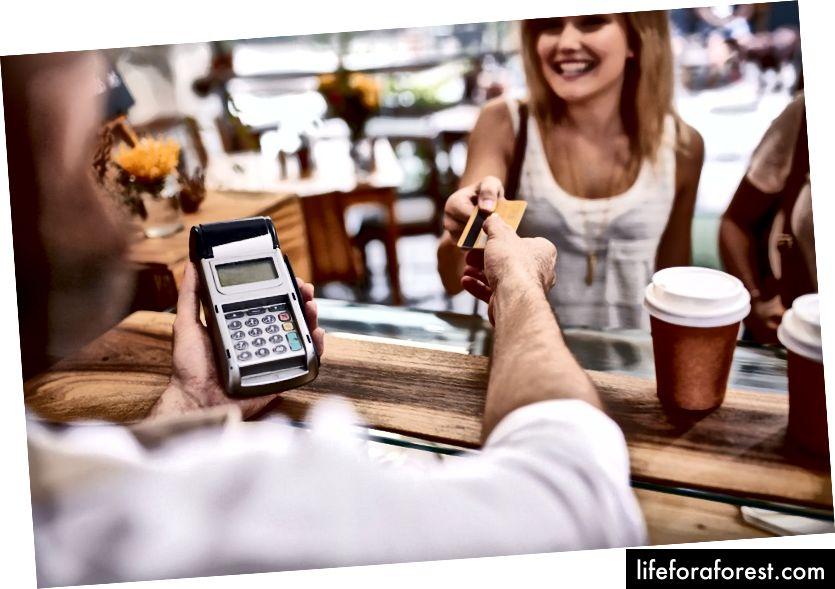 Kasutage oma krediitkaarte distsipliiniga. Foto autor: Jacob Lund / Shutterstock.