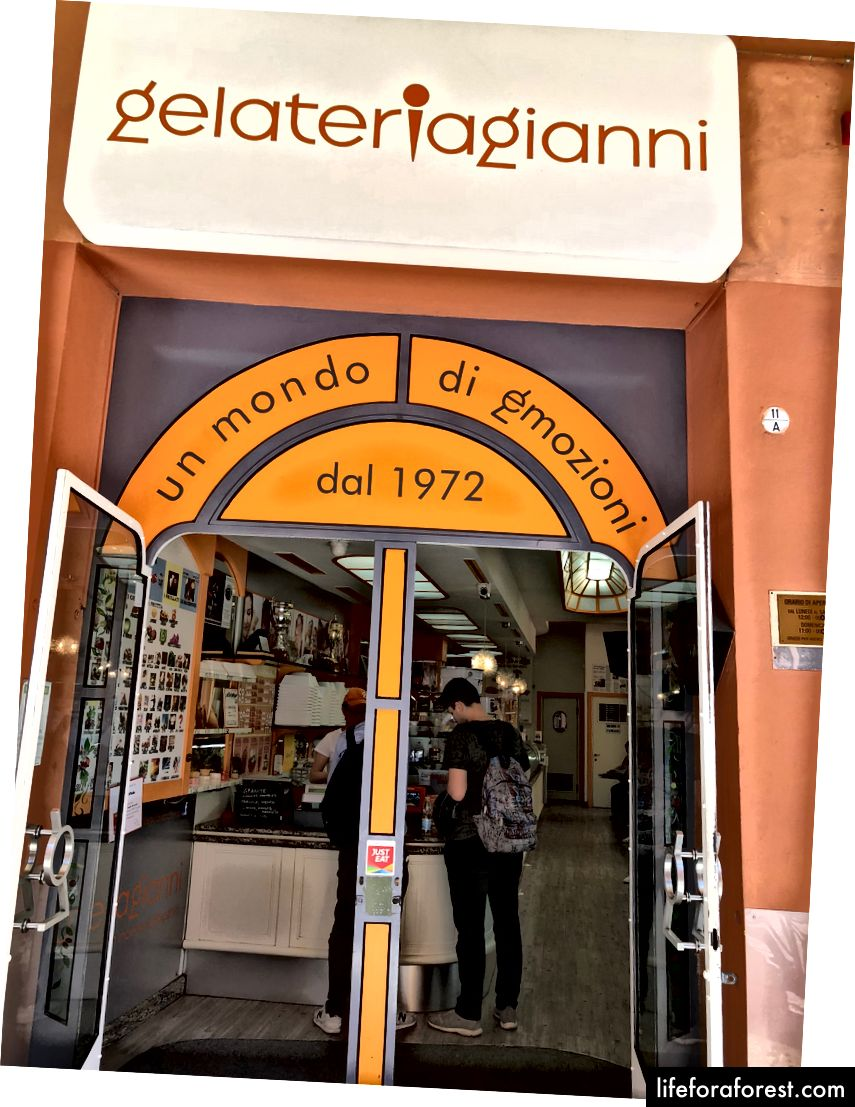 Gelateria Gianni, Bologna, Itálie
