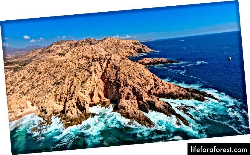 Garis pantai indah Cabo San Lucas