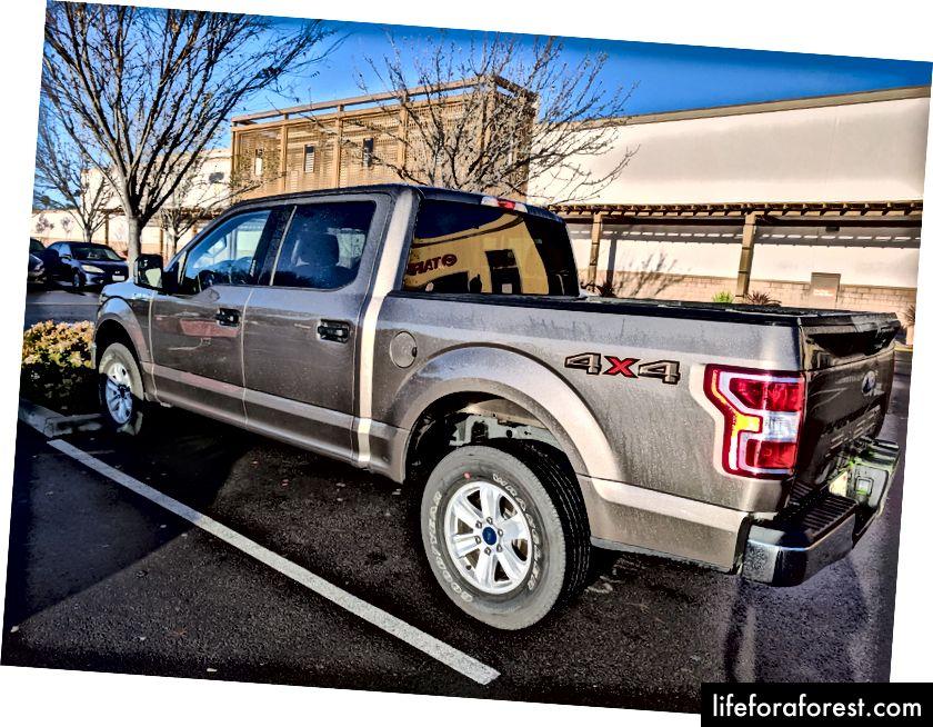 Quái vật Quái thú Ford Ford F150 XLT