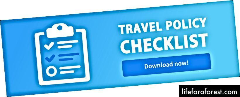 Travelstop — 회사 여행 정책 점검표 템플릿