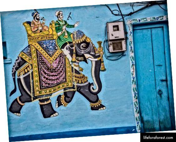Découvrez les belles peintures murales