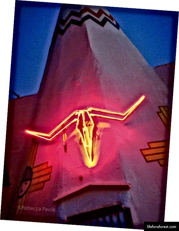TeePee Curios Shop в Тукумкари, Нью-Мексико | Фото © Ребекка Павлик