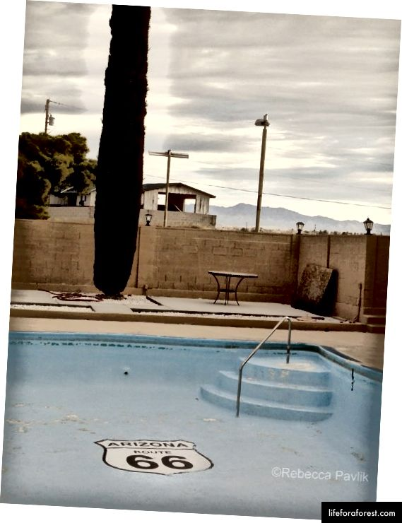 Quality Inn di Kingman, Arizona | Foto © Rebecca Pavlik