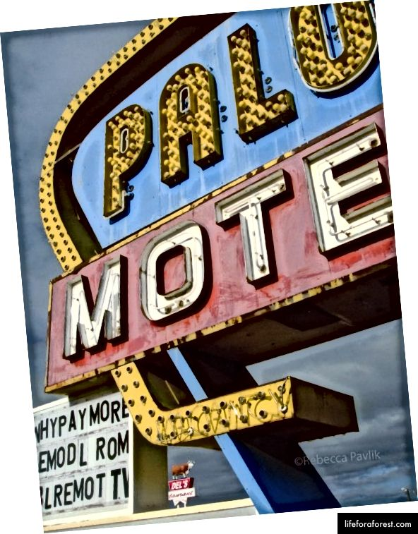 Old Route 66, Tucumcari, New Mexico | ภาพถ่าย© Rebecca Pavlik