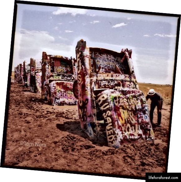 Cadillac Ranch | Foto © Tom Nora