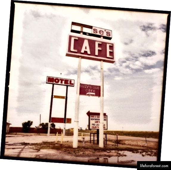 Gamle rute 66, West Texas | Foto © Tom Nora