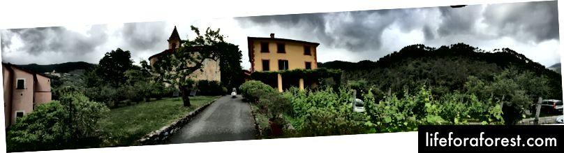 Agriturismo Villanova, menawan bahkan di tengah hujan