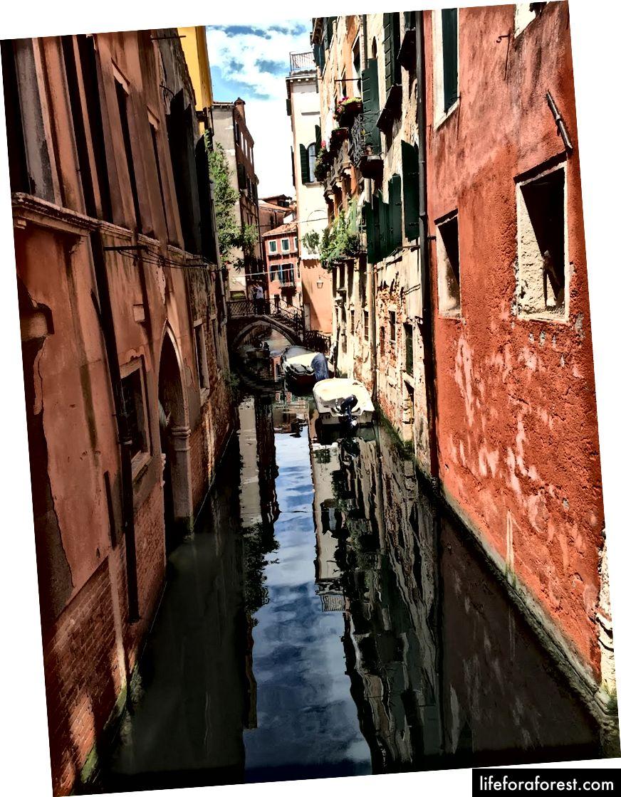 Đúng, Venice thật đẹp