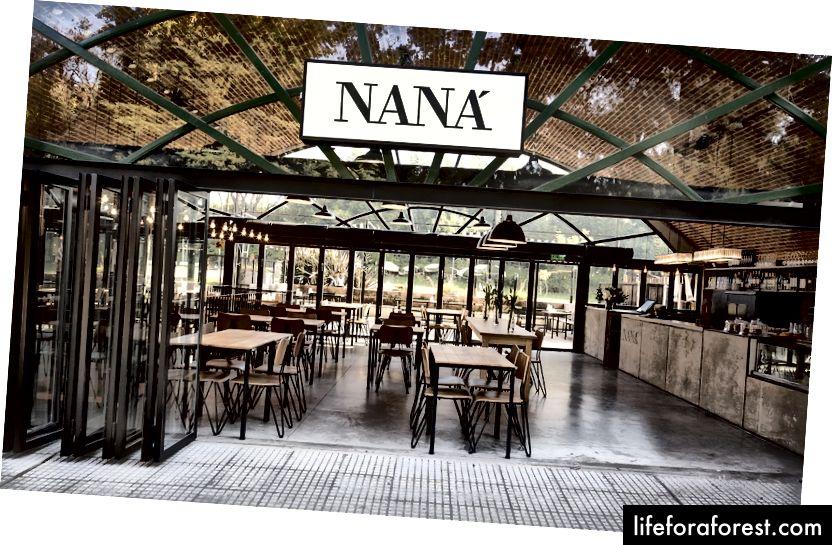 Nana, Buenos-Ayres. Fon rasmi rasmlarining iltifoti *