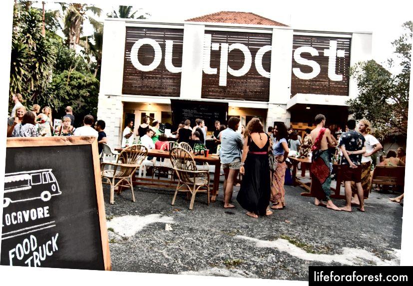 Utpost på Bali. Bilde takket være Outpost