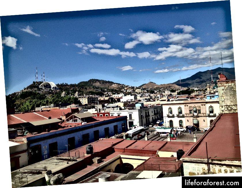 Domy miejskie w Oaxaca