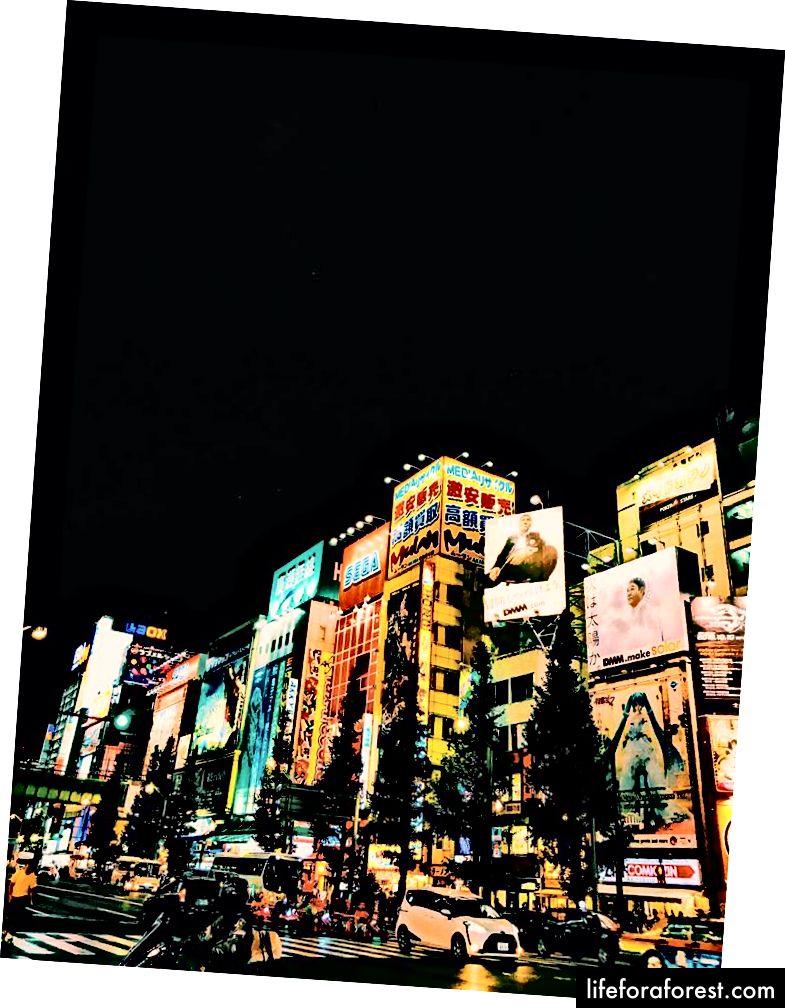 Đường Akihabara - Tokyo, Nhật Bản