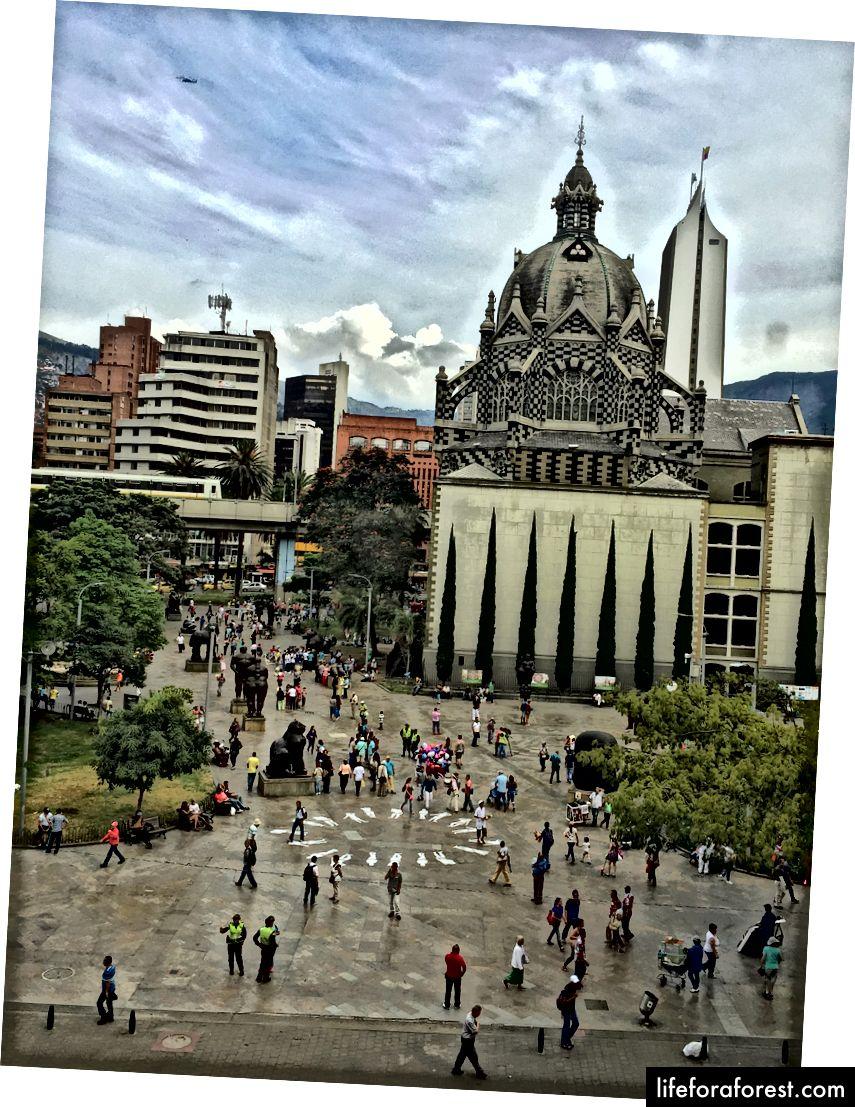 L'exploration de ma ville hôte, Bogotá, ainsi que des villes historiques comme Carthagène et Medellin a été un moment fort de l'année.