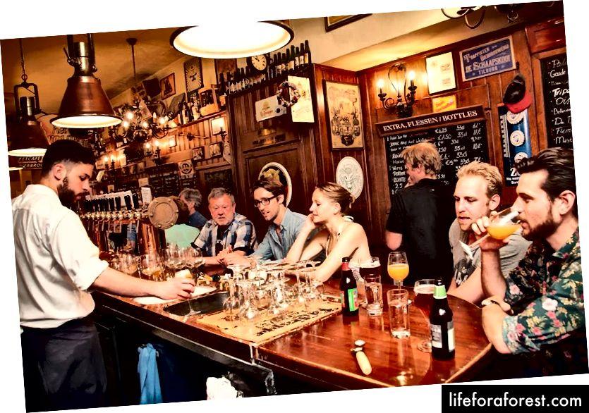 """Holandské pivní nebe """"Het Arendsnest"""""""