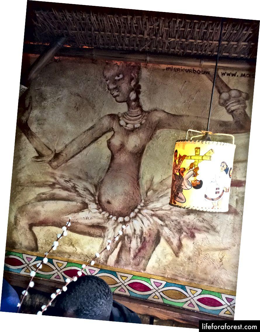 Nội thất của nhà hàng Abyssinia