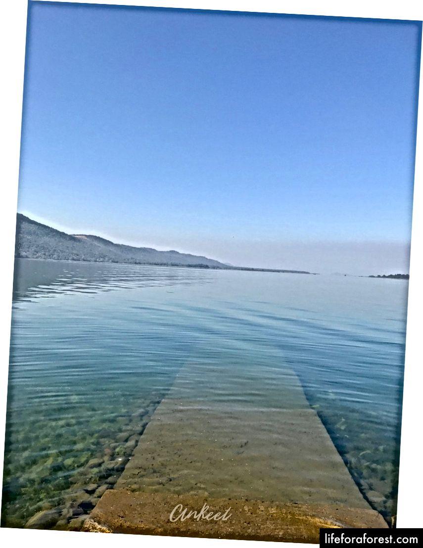 Algumas das águas mais claras da Índia