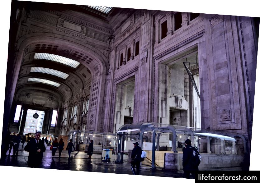 Milano Centrale, главната гара в Милано