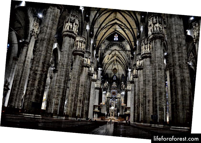 Iekšpusē 6. lielākā baznīca visā pasaulē