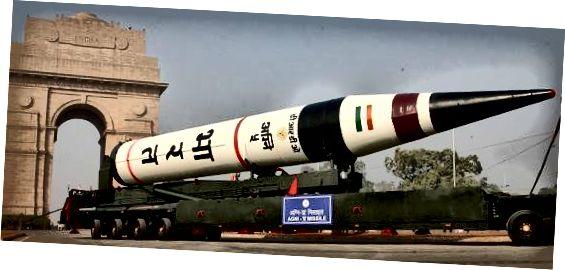Балістычная ракета сярэдняга і далёкага дзеяння - Агні