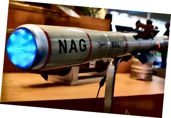 Процітанкавая ракета трэцяга пакалення - НАГ