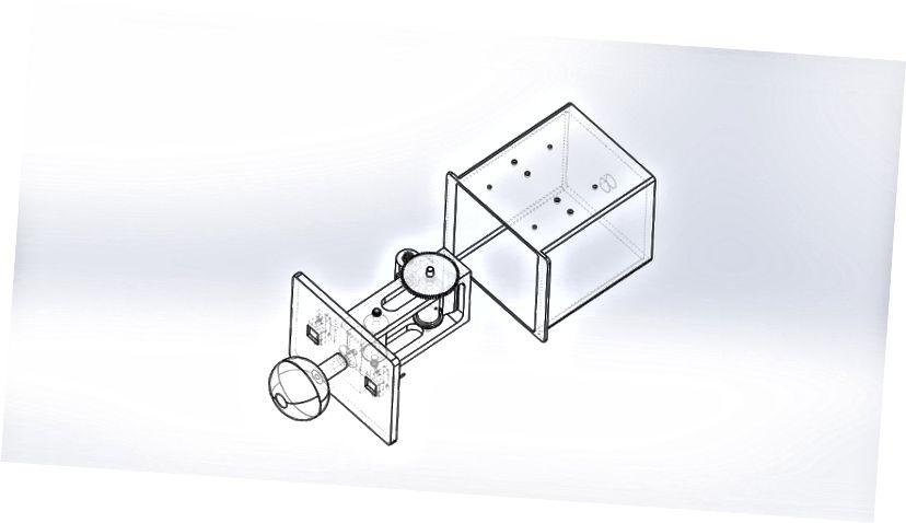 3D-эскіз дызайну Team EARS