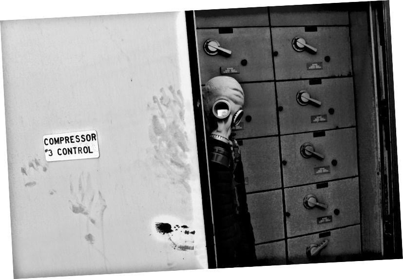 Tšernobõli ajastu gaasimaskid? Täiesti vajalik…