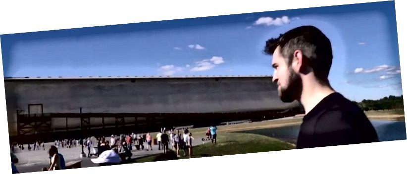 Аўтар на Ark Encounter у 2015 годзе