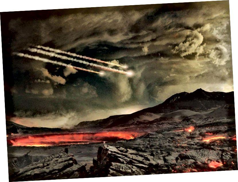 Un planeta que sigui candidat a ser habitat, sens dubte, experimentarà catàstrofes i esdeveniments d'extinció. Si la vida ha de sobreviure i prosperar en un món, ha de tenir les condicions intrínseques i ambientals adequades per tal que sigui així. (CENTRE DE VOLS ESPACIALS DE LA NASA GODDARD)
