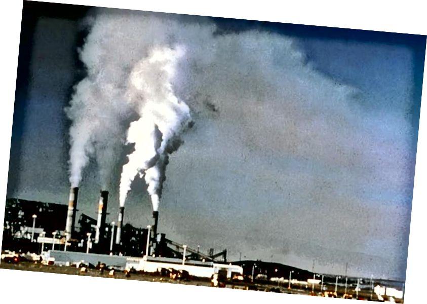 Павелічэнне выкідаў парніковых газаў, у прыватнасці, CO2, можа мець вялікі ўплыў на клімат Зямлі ўсяго за некалькі сотняў гадоў. Мы назіраем, што гэта адбываецца сёння. Імідж крэдыту: служба нацыянальнага парку ЗША.