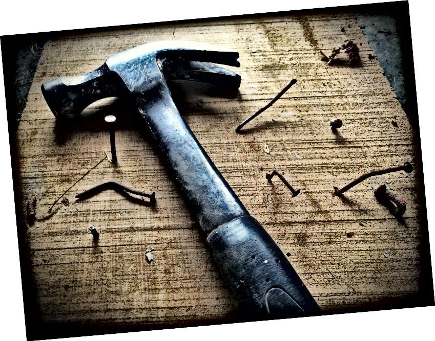 Wenn du einen Hammer hast, habe ich recht? (Quelle)