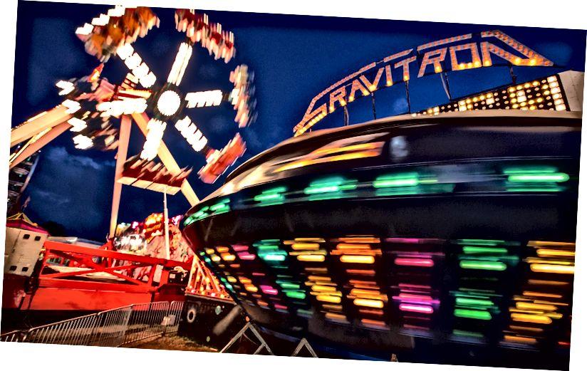 Tør du ride på Gravitron? Foto af Daniel X O'Neill / Flickr