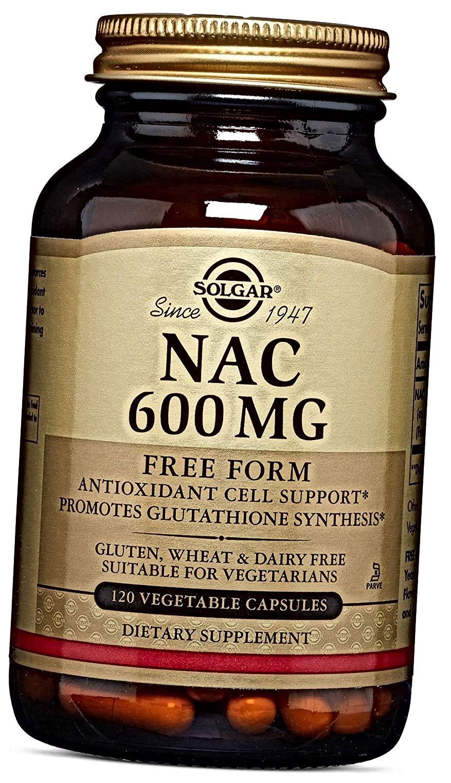Solgar - NAC 600 mg, 120 Gemüsekapseln
