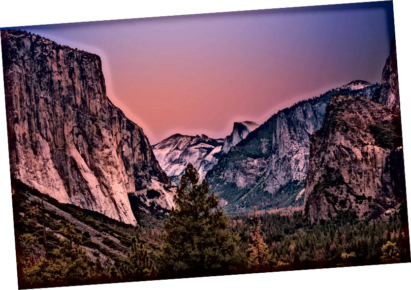 Údolie Yosemite