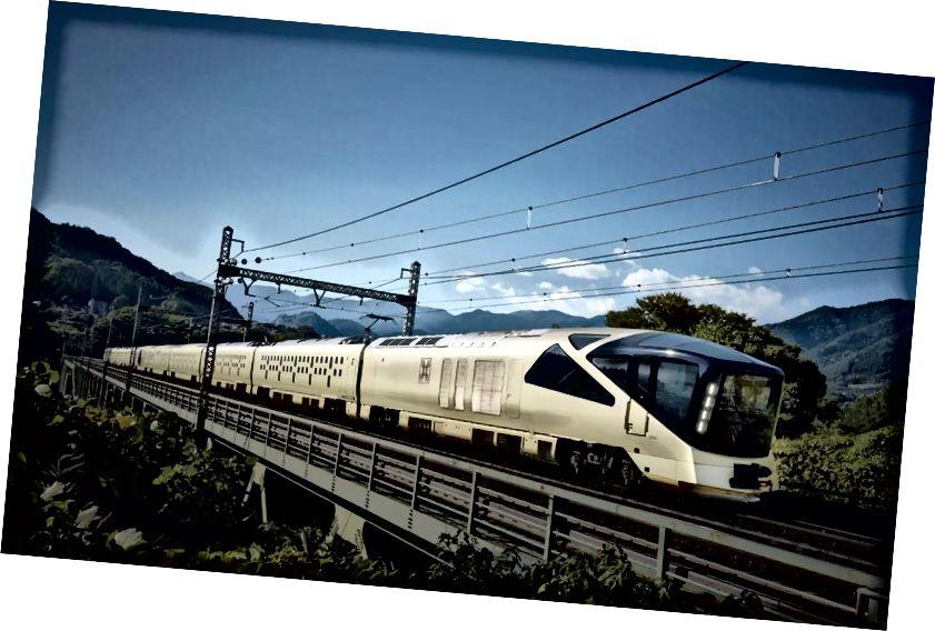 Vlak Suite Shiki-shima