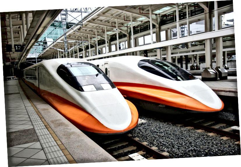 Vlak THSR 700T